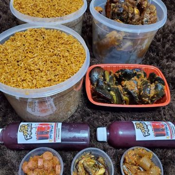 5 Litres Party Jollof and more