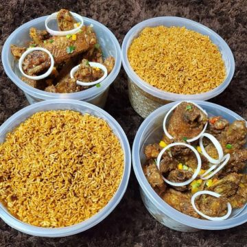 10 litres Jollof Pack and More