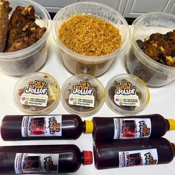 3 Litres Party Jollof and More